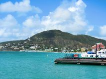 St Maarten Beach Fotografia de Stock