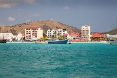 St Maarten, Caribbean Sea Royalty Free Stock Photography