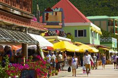 St Maarten, del Caribe Fotografía de archivo libre de regalías