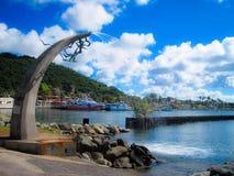St Maarten di Marigot fotografia stock