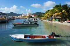 St.Maarten Insel Stockbilder