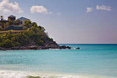 St. Maarten Island Beach Royalty Free Stock Photo