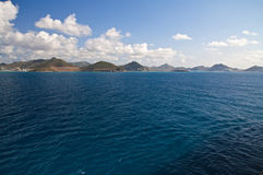 St. Maarten Island, Caribbean Royalty Free Stock Images