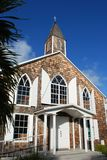St Maarten Island Church Stock Image