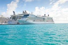 St. Maarten port in the Caribbean Stock Photography