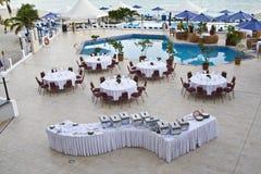 St Maarten tropical island Stock Photography