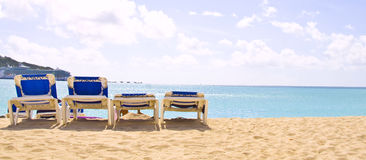 St Maarten tropical island Royalty Free Stock Photo