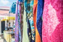 St. Maarten vendor crafts Stock Images