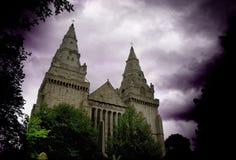 St Machar的大教堂 免版税图库摄影