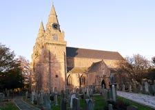 St Machar ` s Kathedraal, Aberdeen, Schotland stock afbeelding