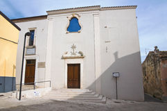 St. Maddalena church. San Giovanni Rotondo. Italy. Stock Photography