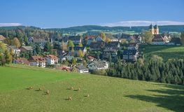 St.Maergen,Schwarzwald,black forest,germany Stock Image
