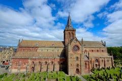 ST Magnus Cathedral, Kirkwall, Orkney Στοκ Φωτογραφία