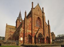 St Magnus Cathedral, Kirkwall, Orkney isles Stock Images