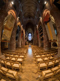 St. Magnus Cathedral. Naive of St. Magnus Cathedral, Kirkwall, Orkney Stock Photos