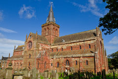 St Magnus Cathedral, Orkney Stock Images
