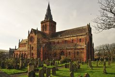 St Magnus Cathedral, south transept Stock Photo