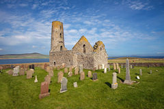 St Magnus Church, Egilsay, Orkney, Scotland Stock Photos