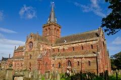St Magnus katedra, Orkney Obrazy Stock