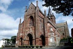 St.Magnus Kathedrale; Kirkwall Stockfotografie