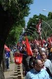 1st Maj demonstration 39 Arkivfoto
