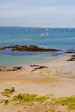 st malo пляжа Стоковое Изображение RF