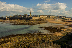 St Malo Fotografie Stock