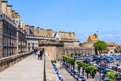 St Malo, Bretagne, França Foto de Stock