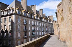 St Malo in Bretagne, France Royalty Free Stock Photography