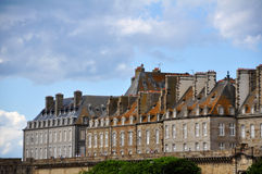 St Malo in Bretagne, France Royalty Free Stock Images