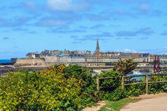St Malo, Bretagne, France. Royalty Free Stock Image