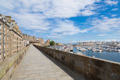 St. Malo, Bretagne, Frankreich lizenzfreies stockfoto