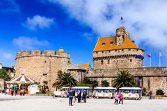 St Malo, Bretagne, Frankrijk Stock Foto