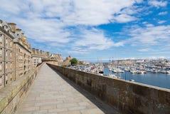 St Malo, Brittany, Francja Zdjęcie Royalty Free