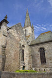 St malo cathedral Royalty Free Stock Photography