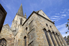 St malo cathedral Stock Photography