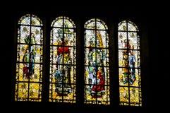St Malo, Francia La cattedrale Fotografie Stock