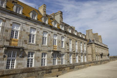 St malo houses Royalty Free Stock Image