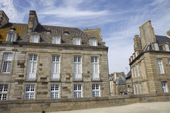 St malo houses Royalty Free Stock Images