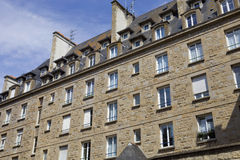 St malo houses Royalty Free Stock Photos