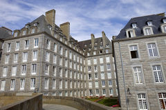 St malo houses Royalty Free Stock Photography