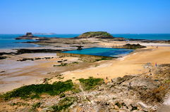 St Malo. In normandy france Royalty Free Stock Images