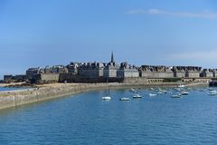 St Malo in Northern France. Taken in summer royalty free stock images
