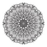 1st Mandala-ontwerp door SFPater royalty-vrije stock fotografie