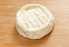 St Marcellin cheese round Royalty Free Stock Photo