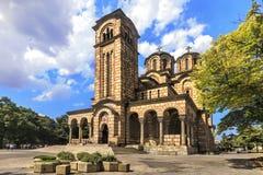St Marco della chiesa ortodossa a Belgrado immagini stock libere da diritti