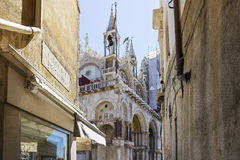 St Marco Square cathedral Royalty Free Stock Images