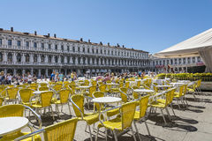 St Marco Square Royalty Free Stock Photo