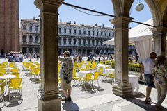 St Marco Square Royalty Free Stock Images