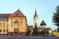 St Margaret Church dans les médias, Roumanie images libres de droits